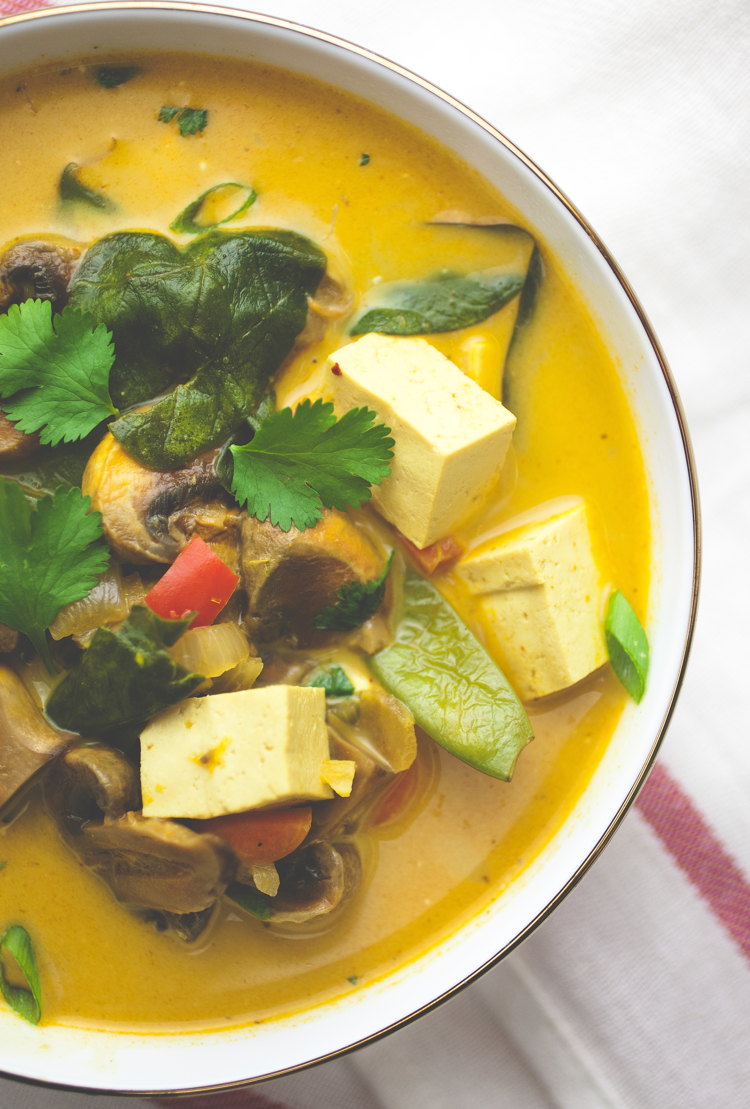 Produce On Parade - Thai Coconut Curry Soup