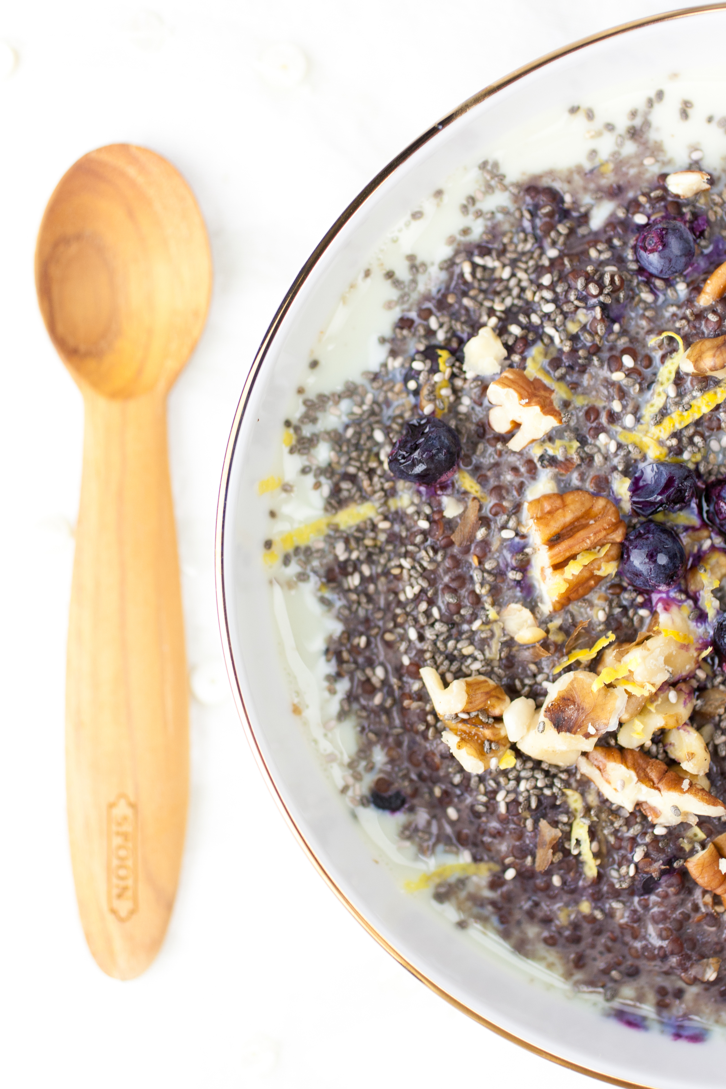 Produce On Parade - Blueberry Pie Quinoa Porridge
