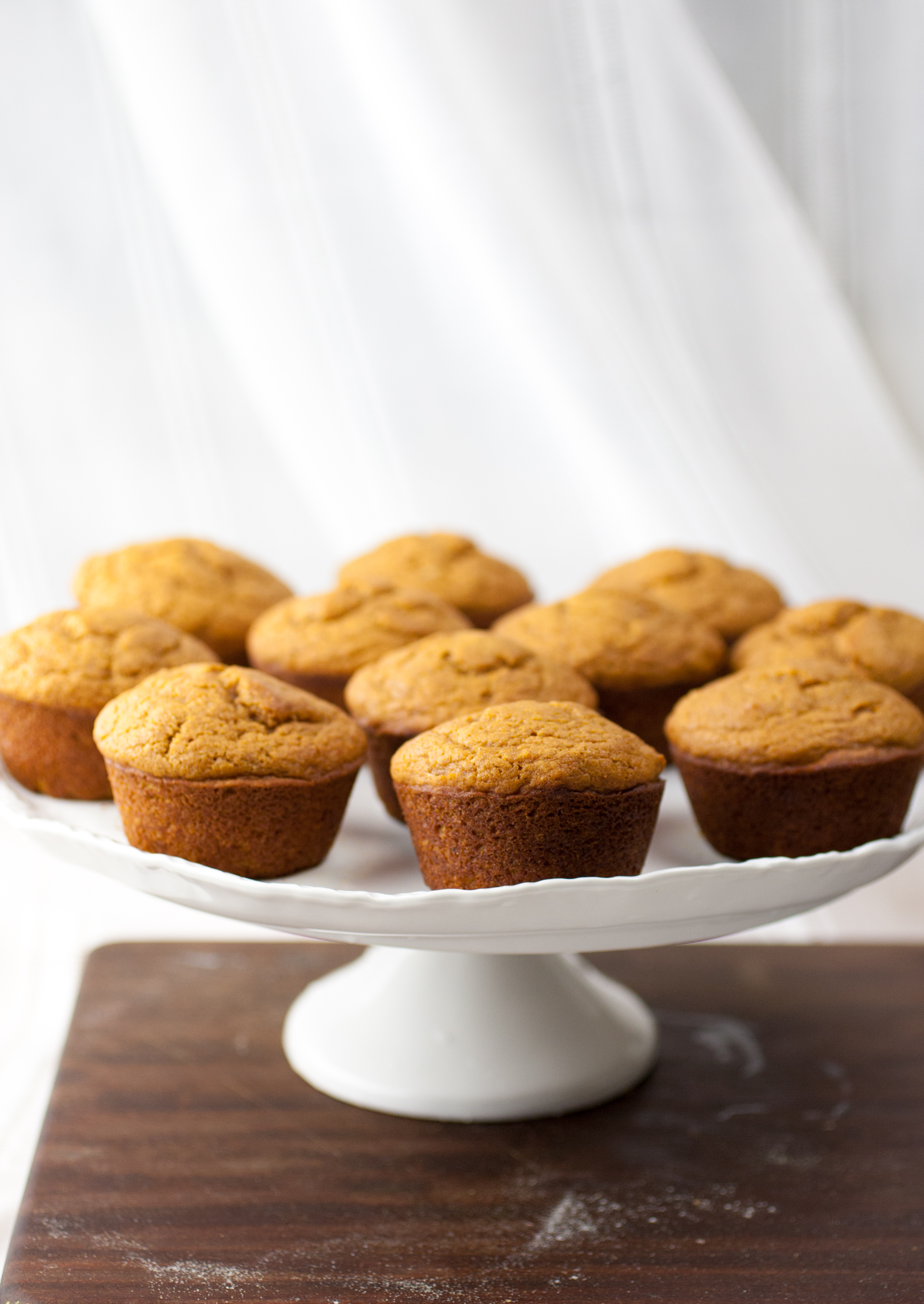 Produce On Parade - Rum Spiced Soft Pumpkin Muffins