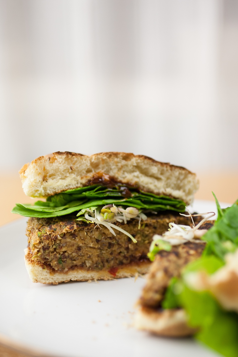 Produce On Parade - Thai Quinoa Burger