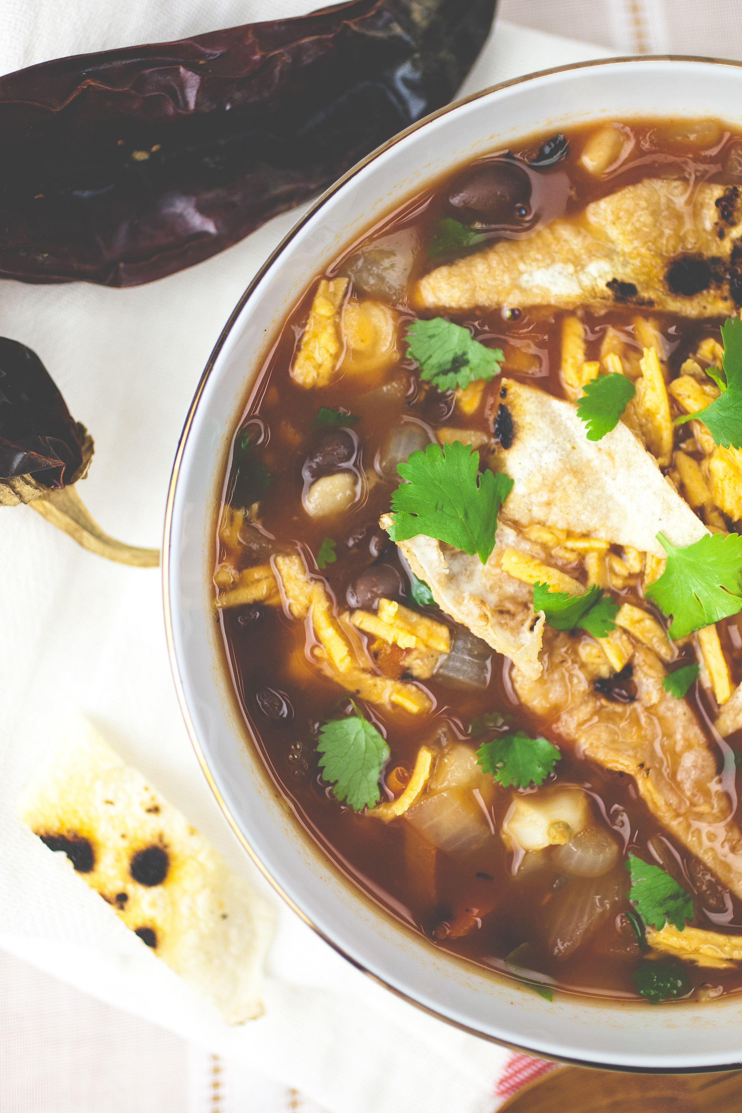 Produce On Parade - Zingy Mexican Soup