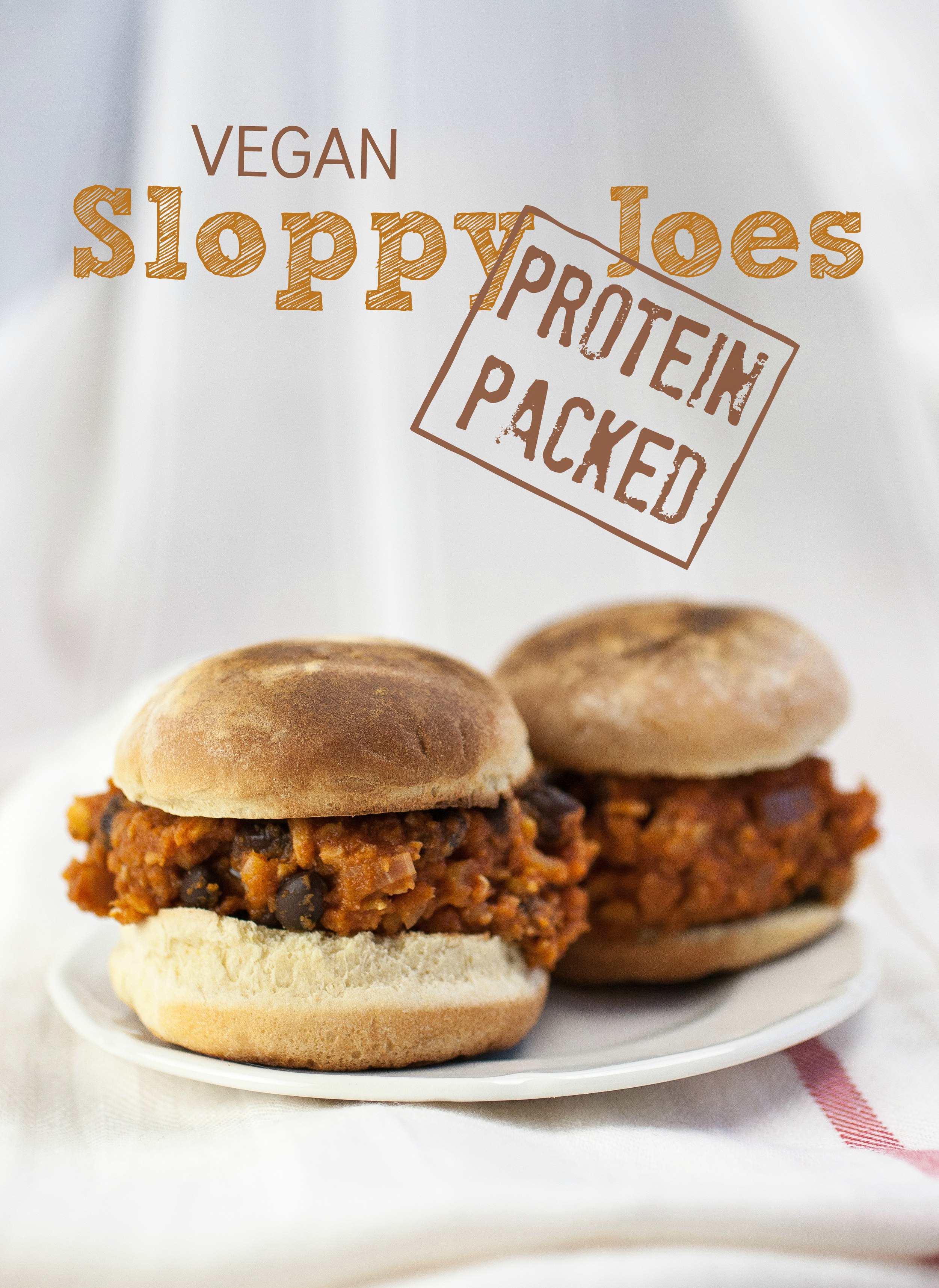 Protein Packed Vegan Sloppy Joes
