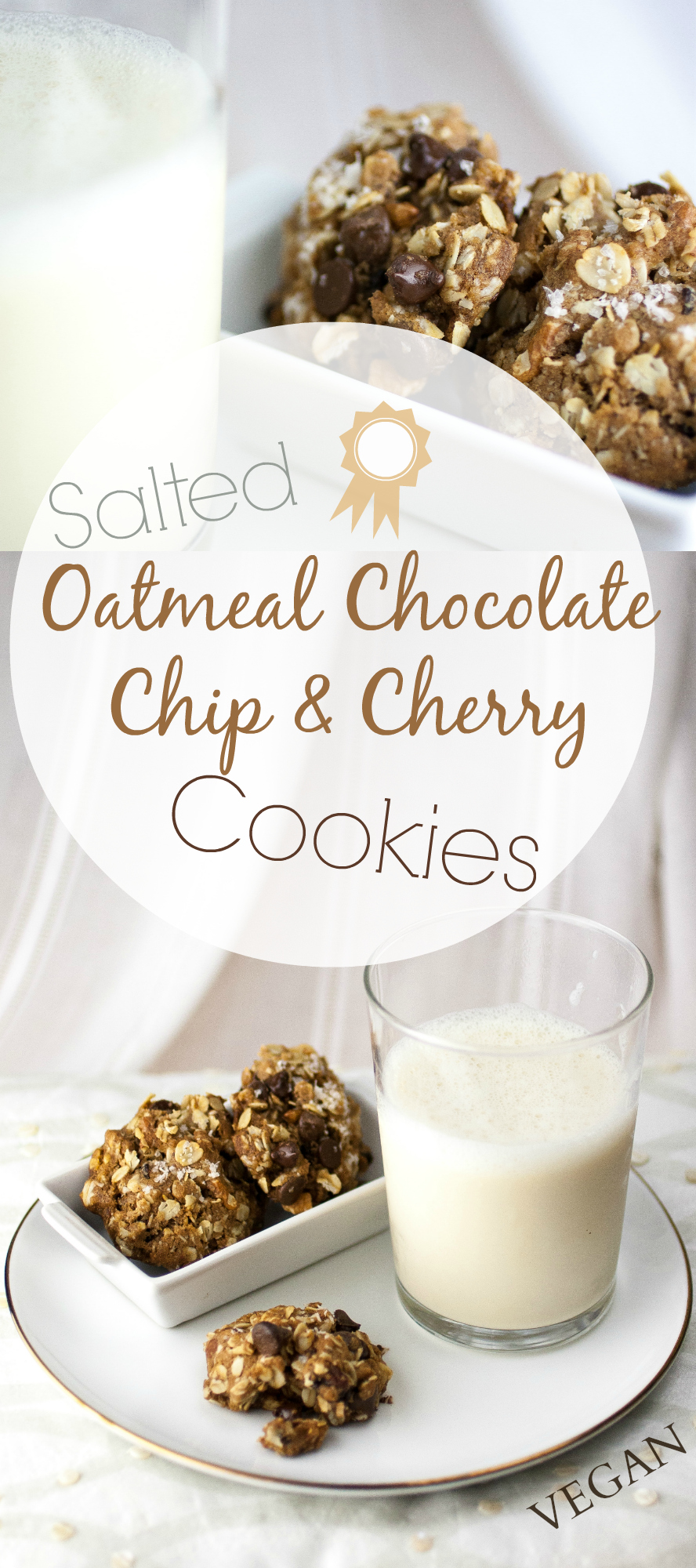 Produce On Parade - Salted Oatmeal Chocolate Chip & Cherry Cookies