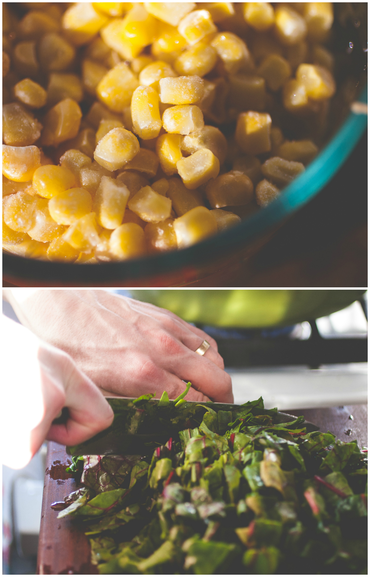 Produce On Parade - Yam, Corn & Chard Chowder