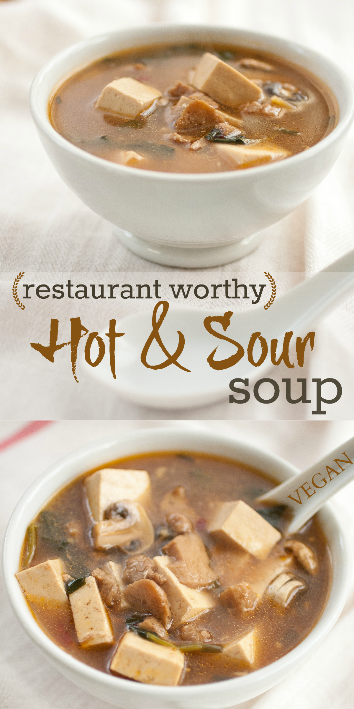 Produce On Parade - Restaurant Worthy Hot & Sour Soup
