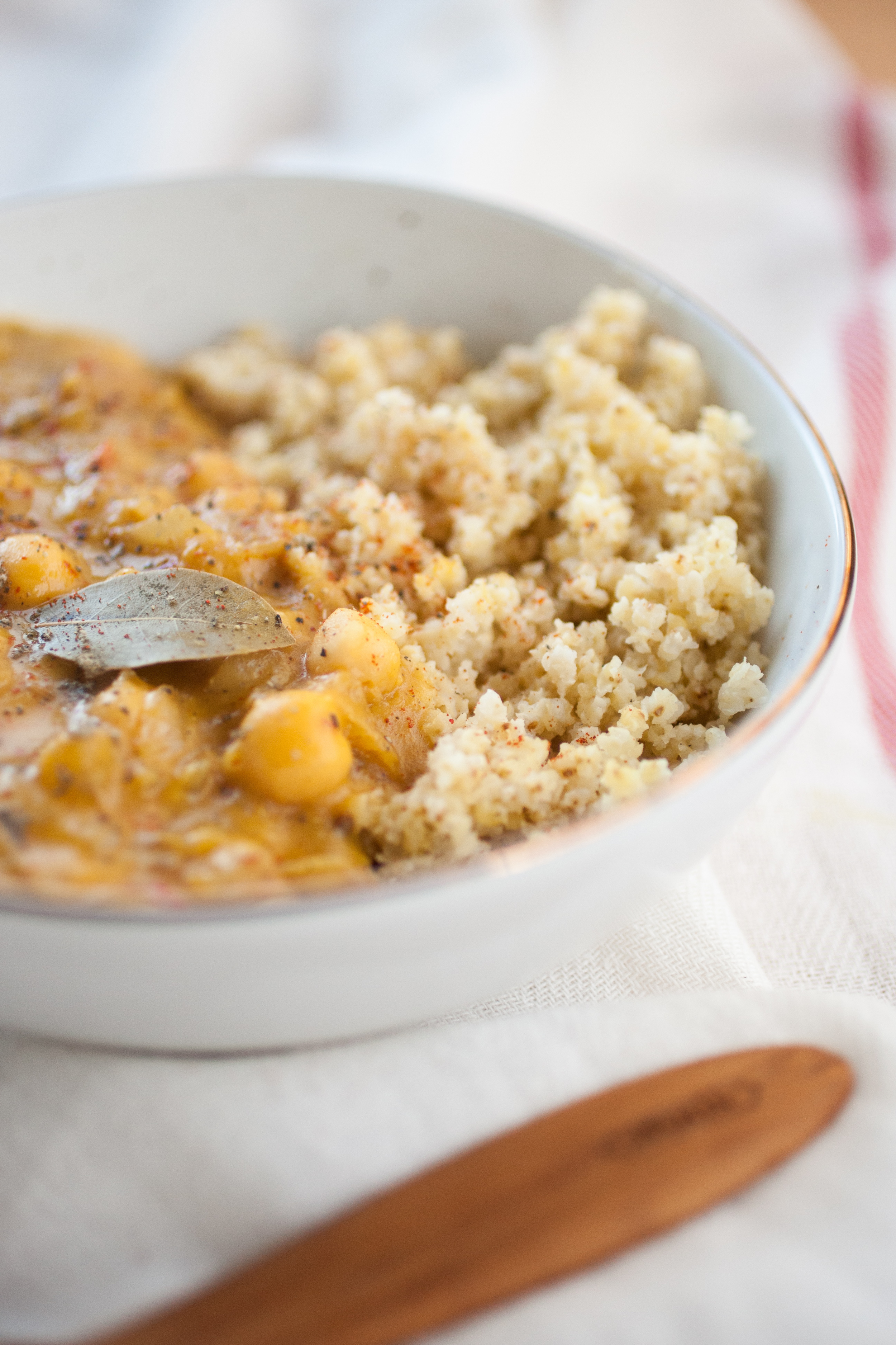 Produce On Parade - Creamy Butternut Chickpea Millet