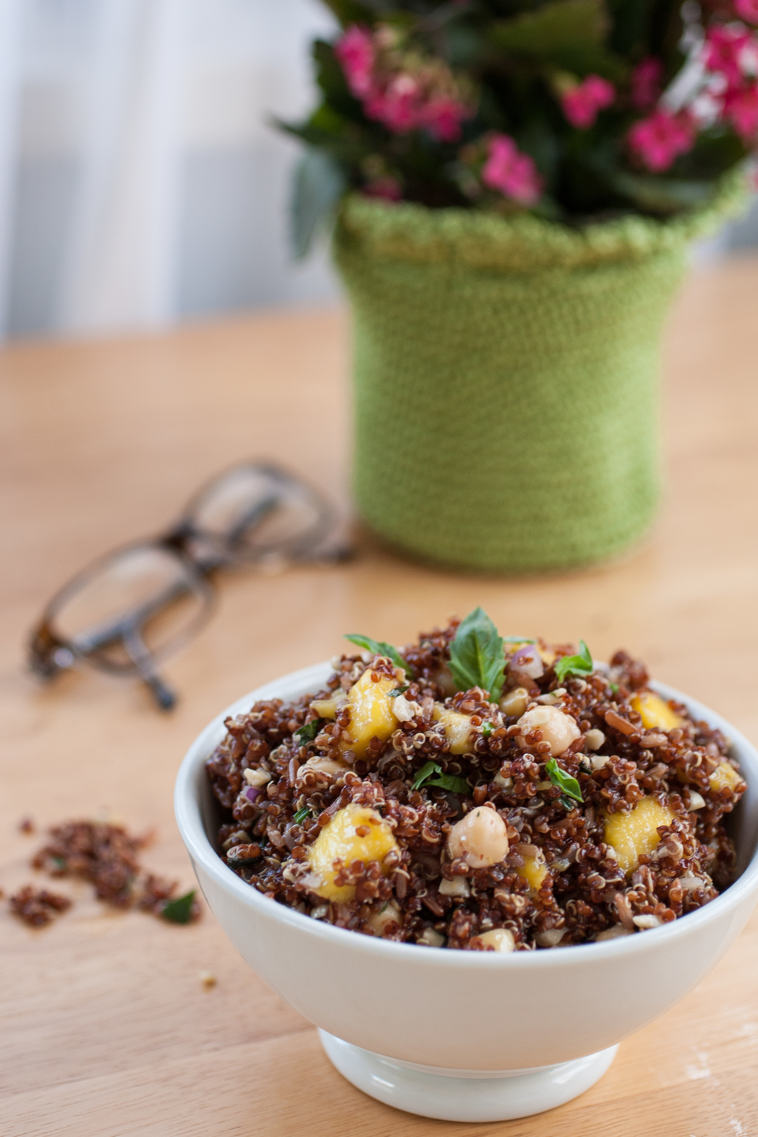Produce On Parade - Mango Quinoa Salad