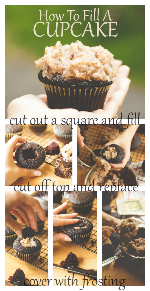 Produce On Parade - How To Fill A Cupcake