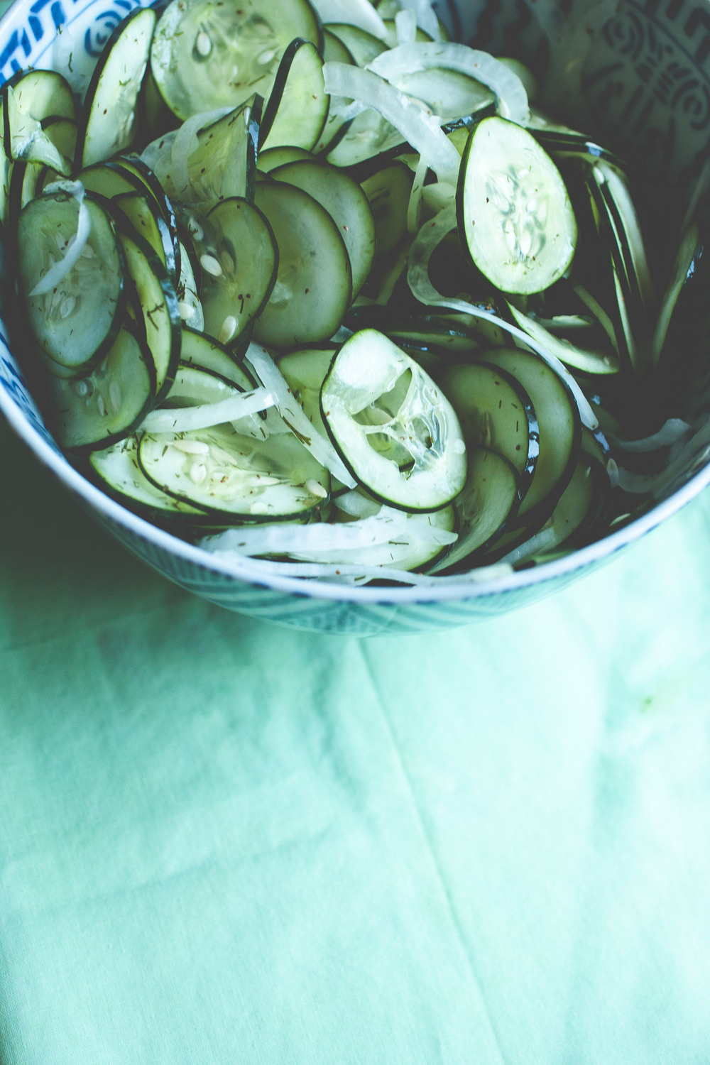Produce On Parade - Sweet Marinated Cucumbers