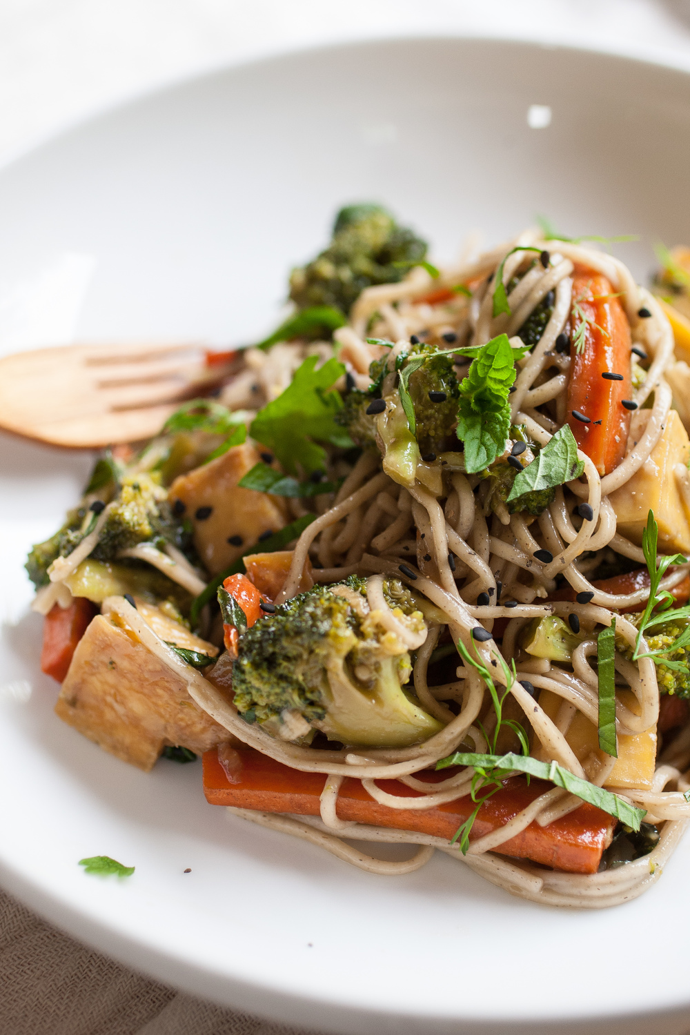 Produce On Parade - Teriyaki Mint Soba Noodles