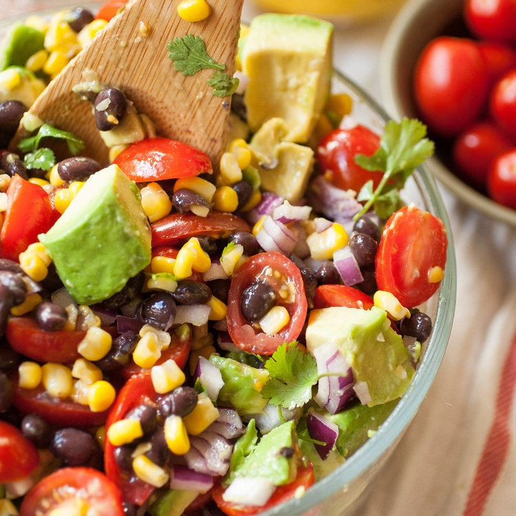 Summer Corn, Avocado & Black Bean Salad — Produce On Parade
