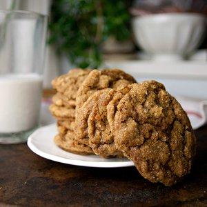 Pumpkin Pie Molasses Ginger Cookies