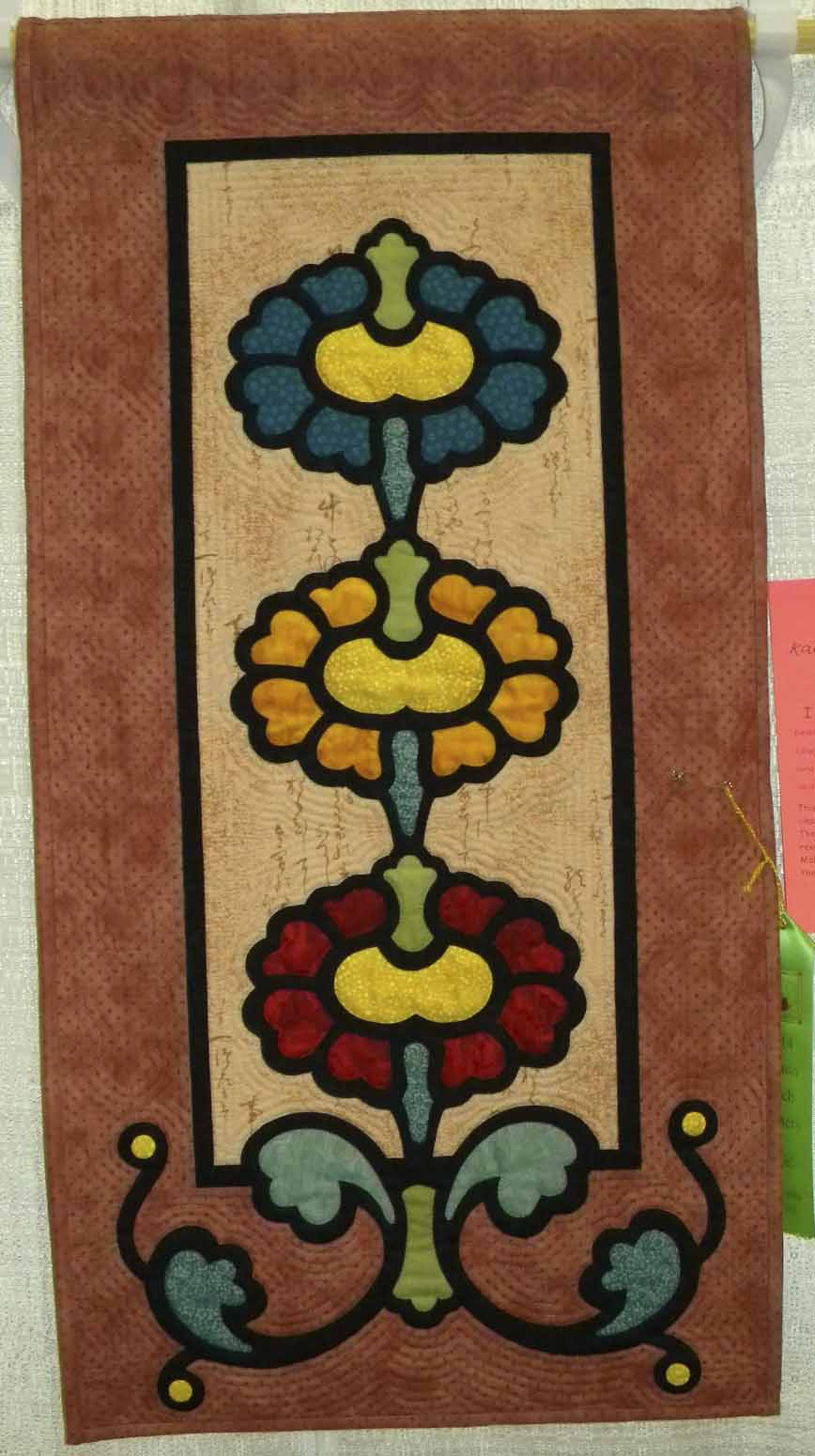 HM Applique-Wall.  I Learned it from Molly by LaVonne Templeton