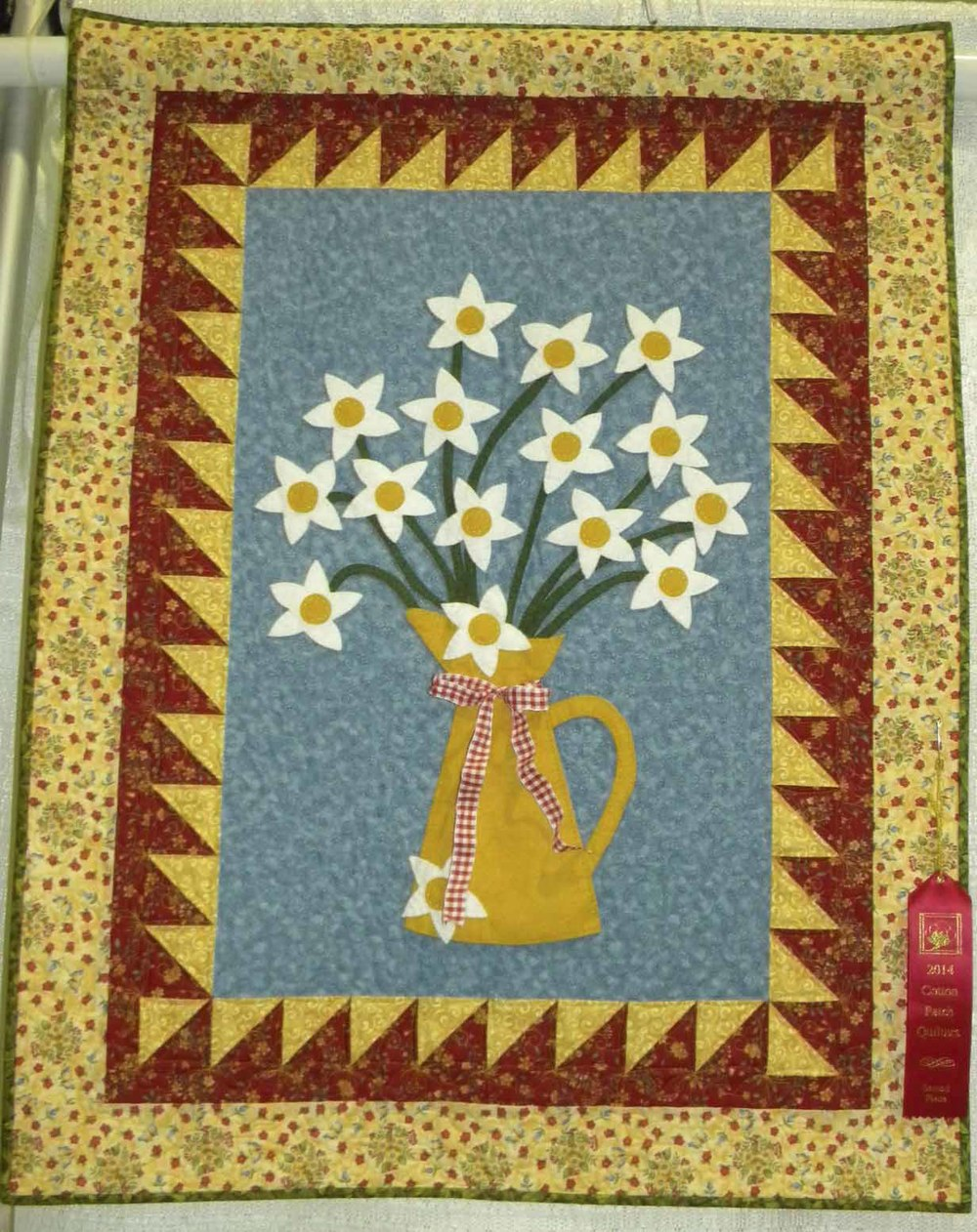 2nd Group.  Pitcher of Daisies by CeCe Westerfield