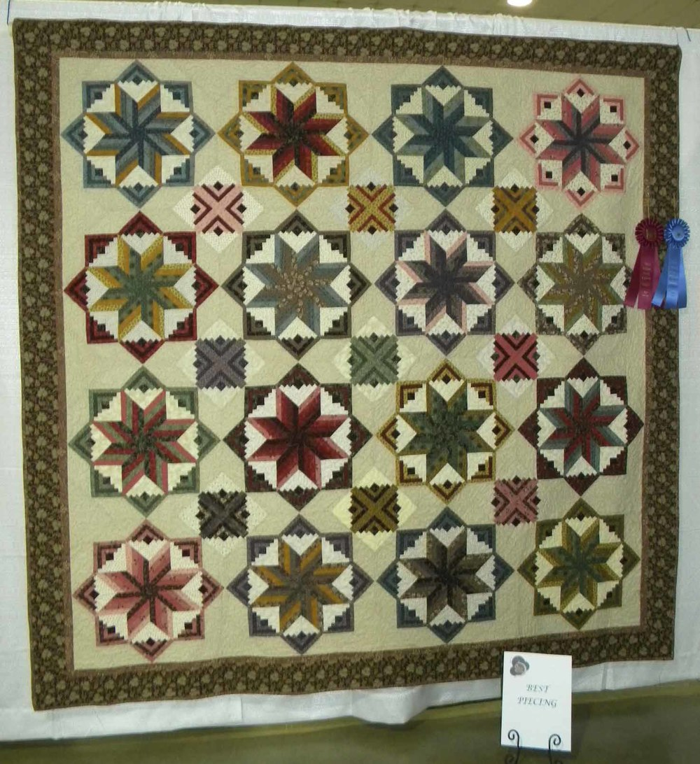 1st Pieced-Large.  Lolly by Candace Meares