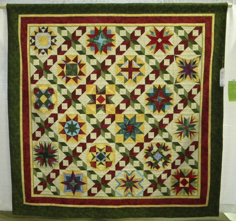 3rd Pieced-Large.  Dancing With the Stars by Barbara Reese