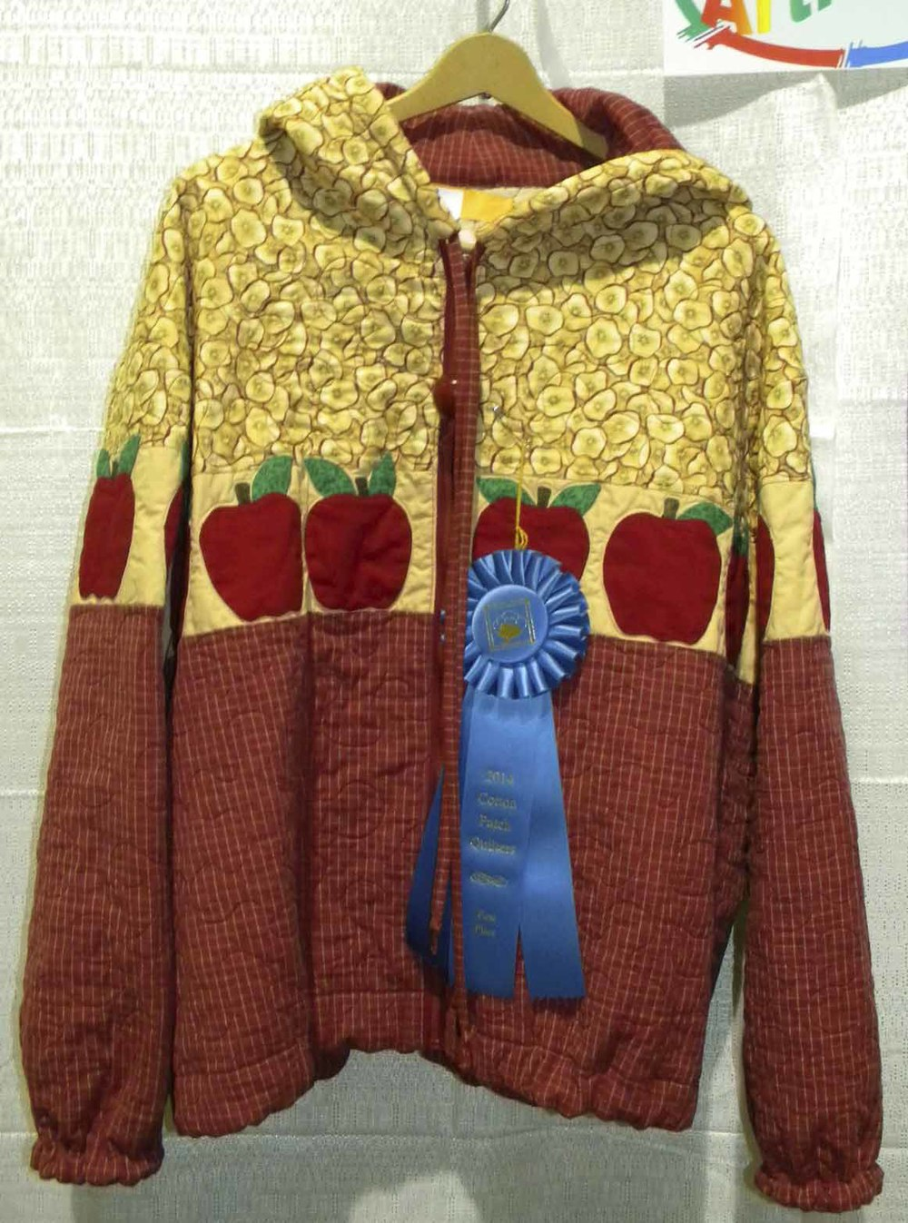 1st Quilted Articles. Apple Jacket by Mary Jo Henry