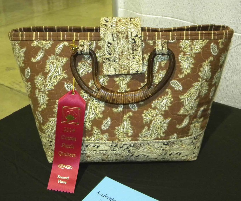 2nd Quilted Articles. Autumn Purse by CeCe Westerfield