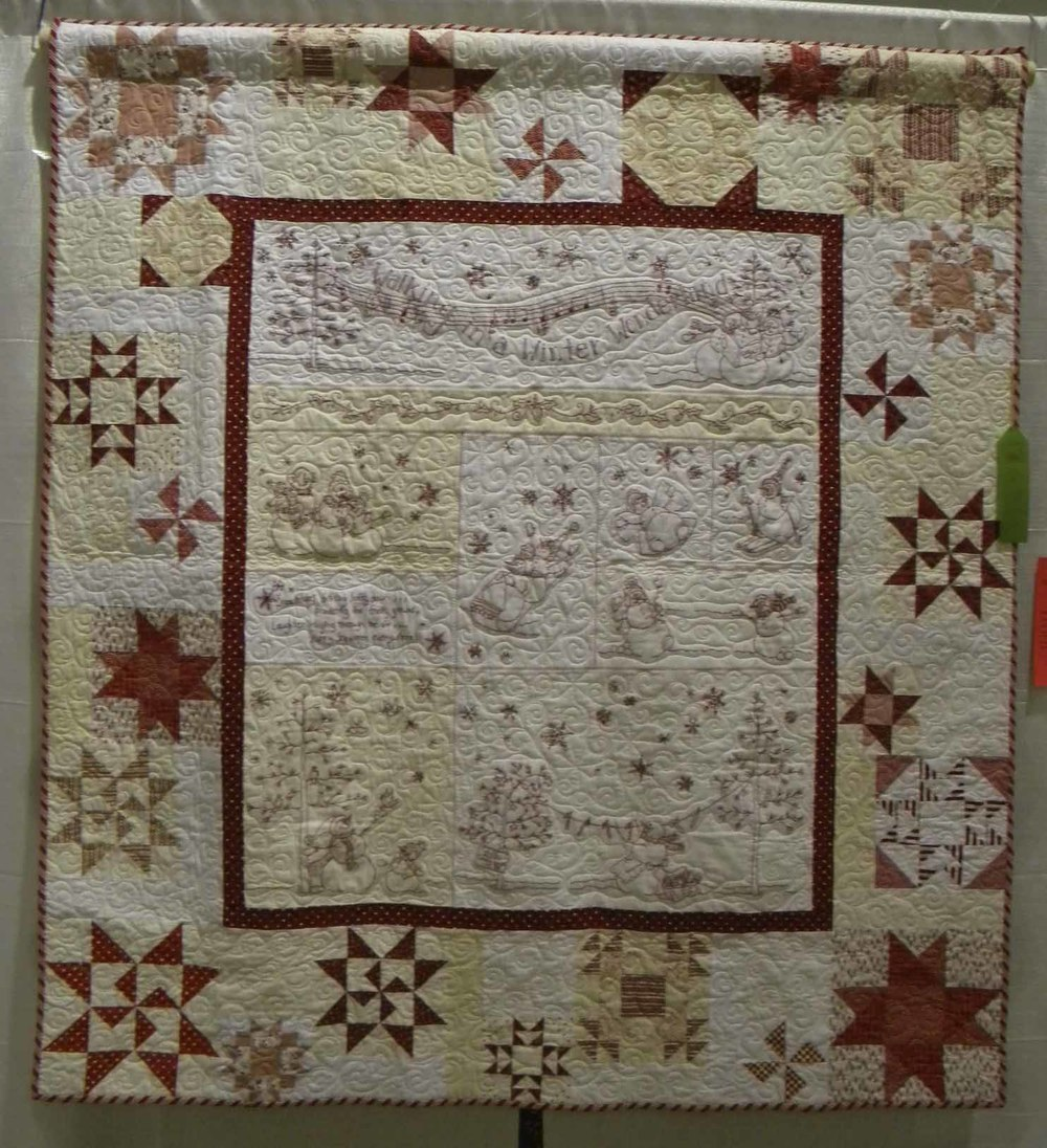 HM Prof Qlt Mixed-Large. Winter Wonderland by Karin Fitzsimmons