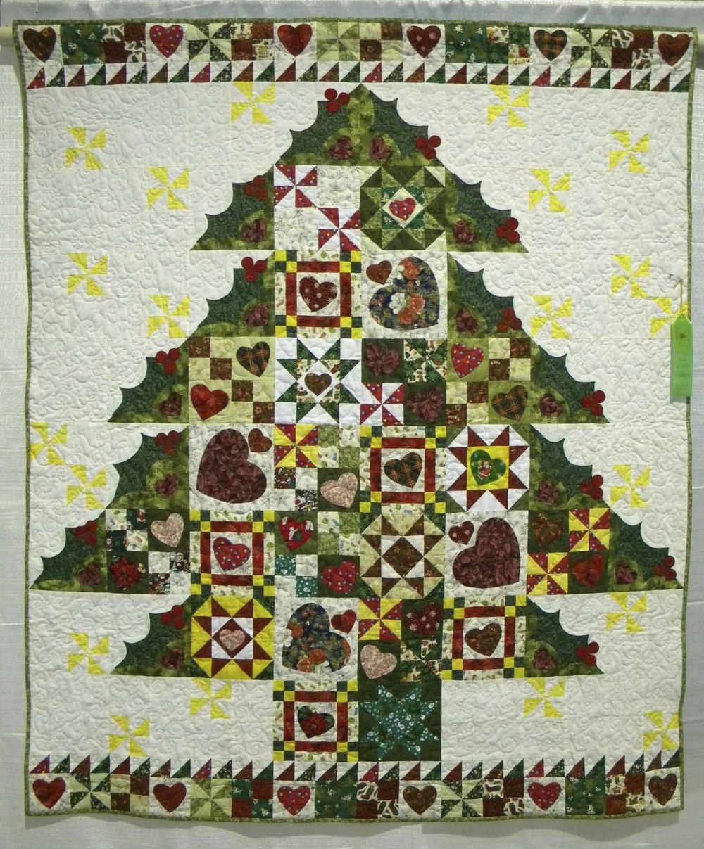 HM Prof Qlt Mixed-Large. My Beautiful Christmas Tree by Karen Barksdale