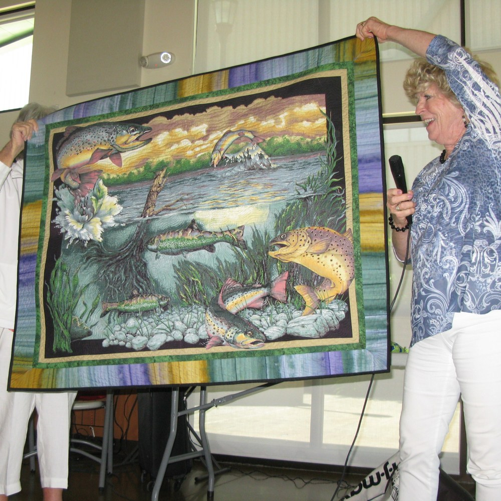 "Sally Shuppert ""Kern River Quilt"""