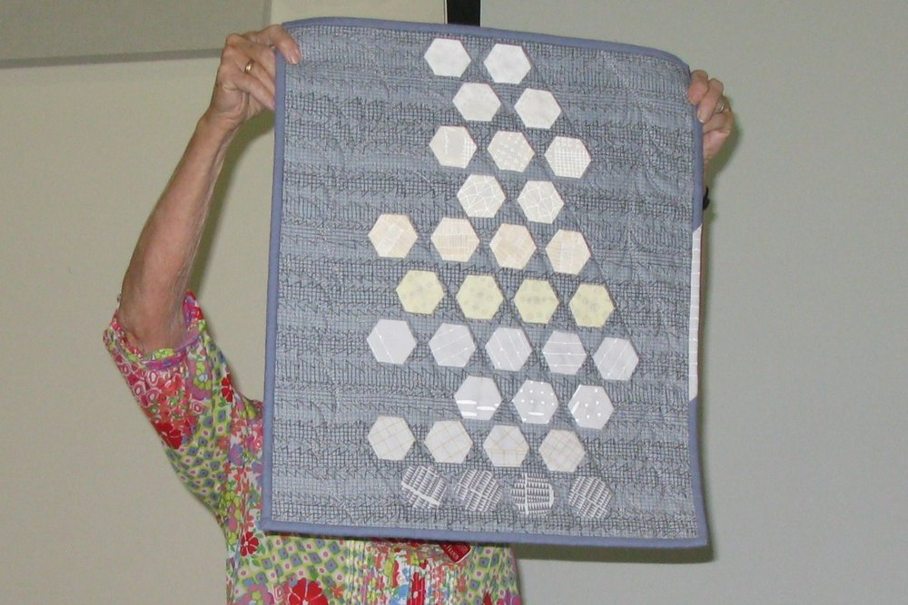 Darla Hall showing Modern Quilting