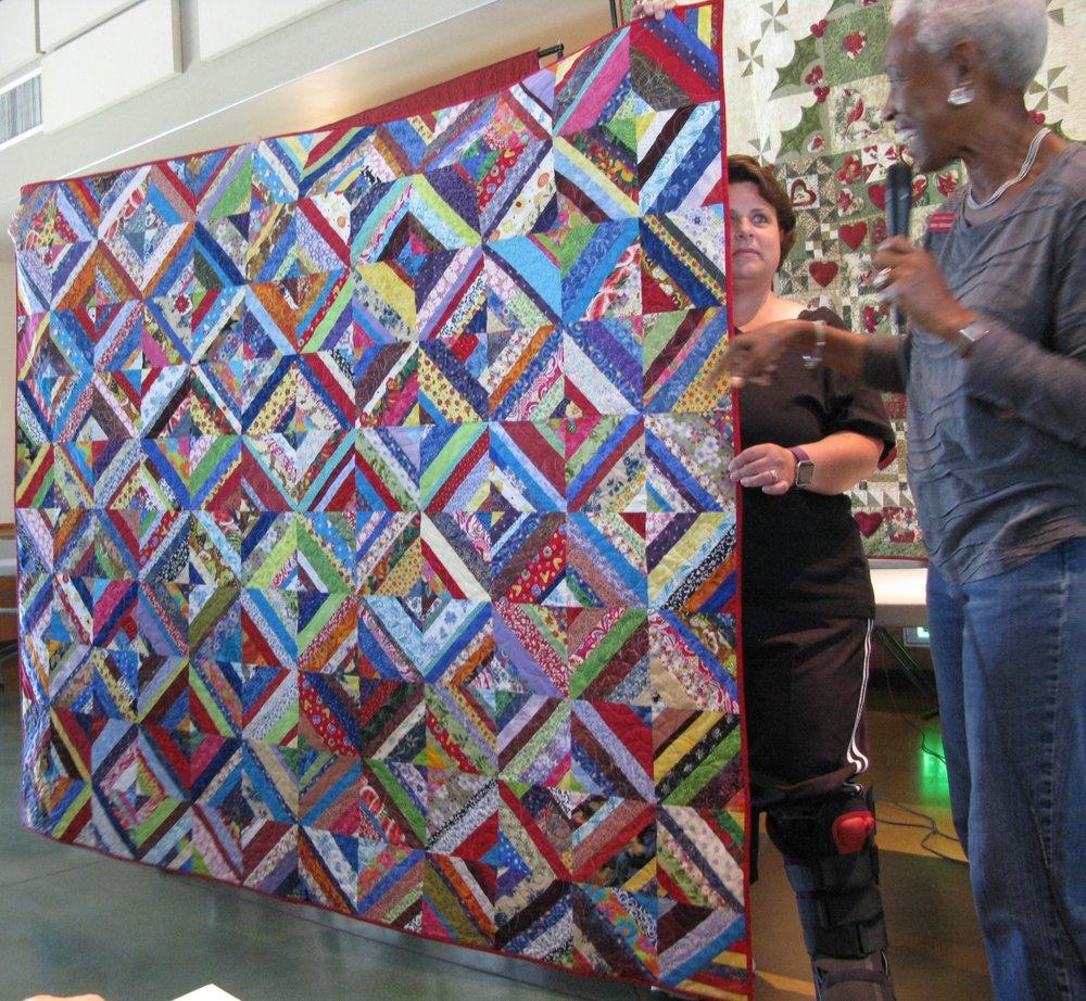 String Quilt by Ann Alexander