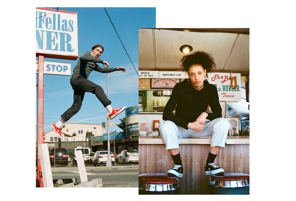 Converse One Star editorial, shot by Lucka