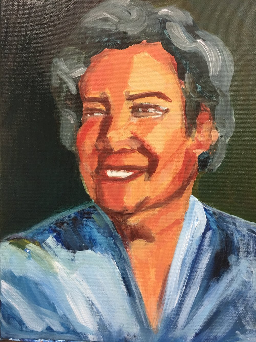 Portrait of Norma Merrick Sklarek