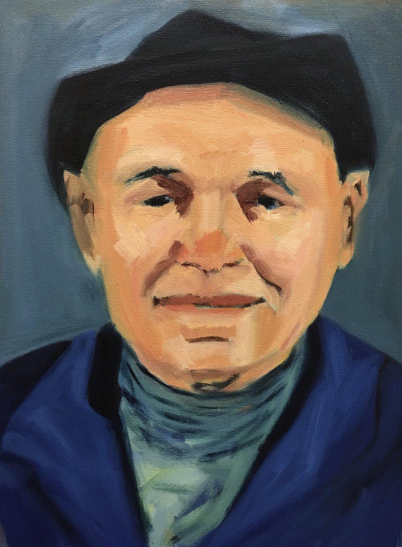 Portrait of artist, Romare Bearden