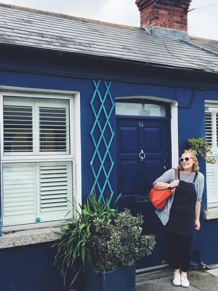 Our little blue cottage of heaven <3. Credit: CA Elliott