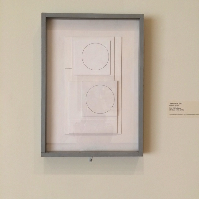 1941 Relief  (Ben Nicholson). Photo: NG Collective Studio