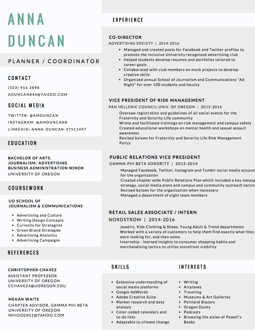 Colorful Queen S Commerce Resume Book 2015 Vignette - Examples ...