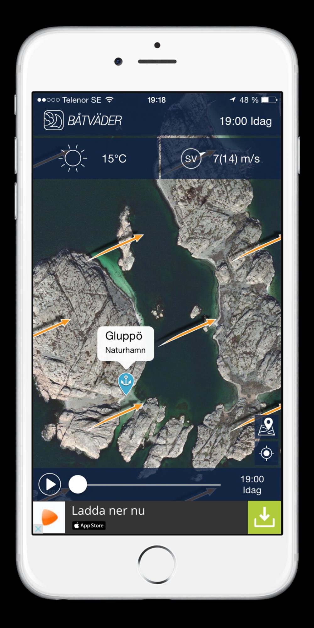 Screenshot iPhone 6 plus