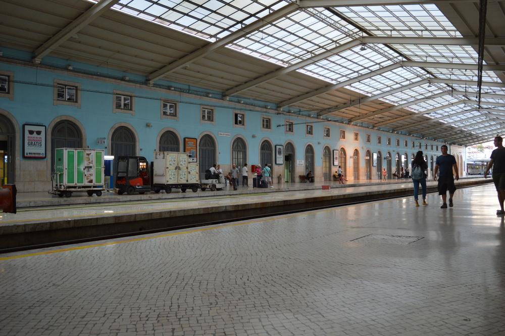 Pretty station though! Lisbon Santa Apolonia.