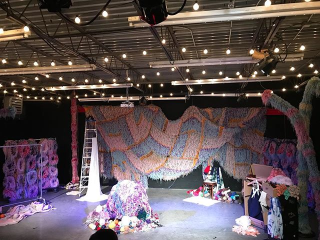 I mean, this set tho. Ready for night two of YARNS. One more chance to see it tomorrow. See all y'all there.