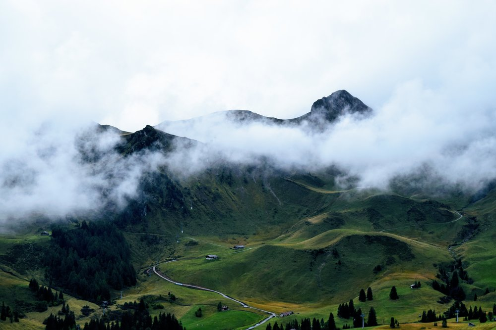 Adelboden to Lenk in September