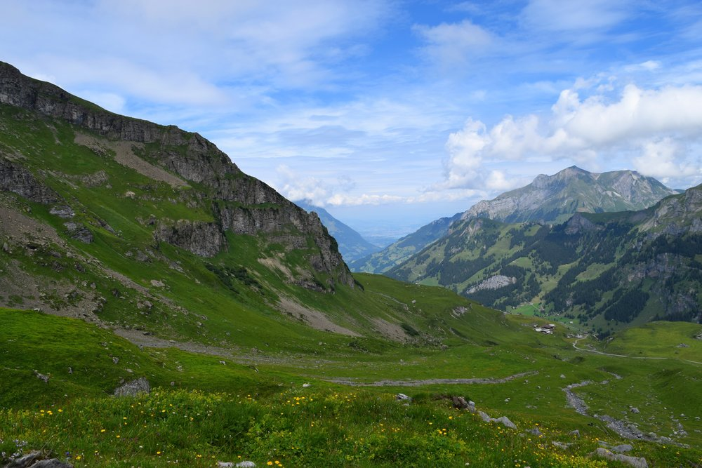 Kandersteg to Adelboden in July