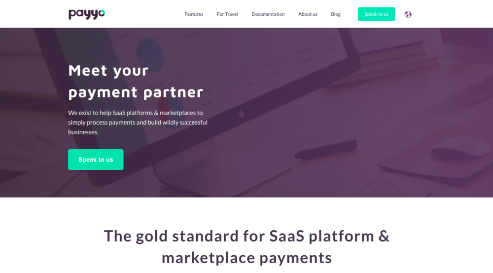 Payyo - Website created and hosted on  HubSpot