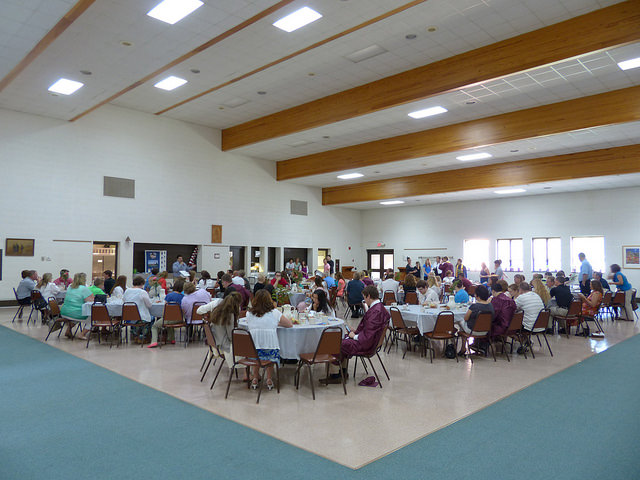 Danner Hall during the Graduates' Breakfast