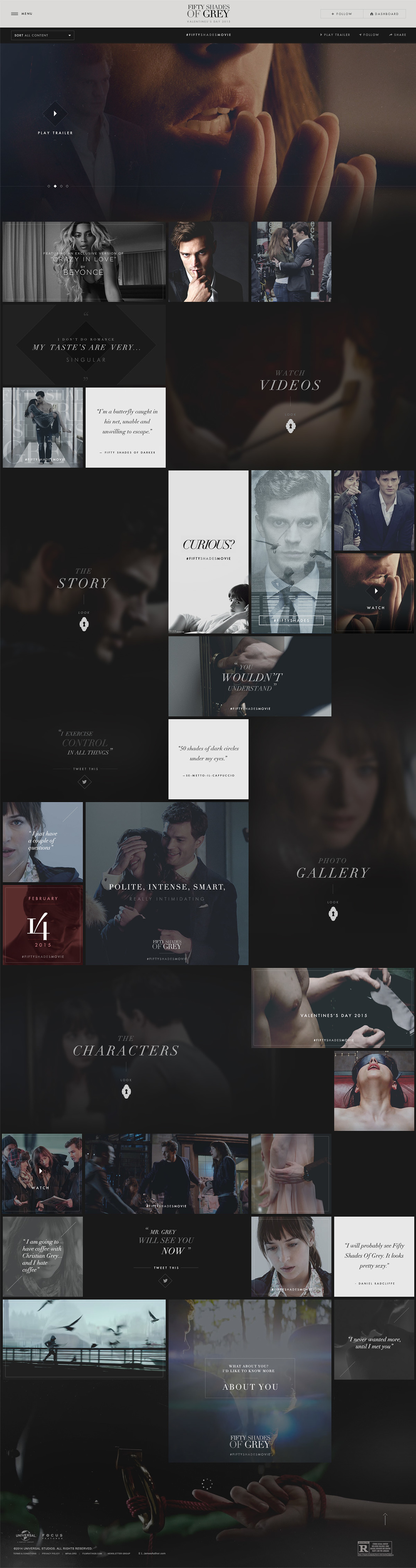 Fifty Shades of Grey by keithevans.com