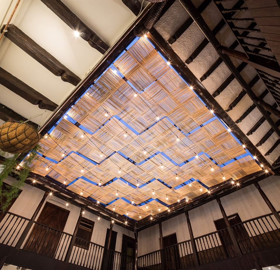 Totora Hand Made Ceiling Modules