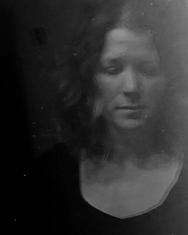I don't normally make self portraits (and rather cringe at the idea), but I'm pushing myself out of my comfort zone. Made with iPhone.  #selfportrait #selfiesunday #camerashy #blackandwhitephotos