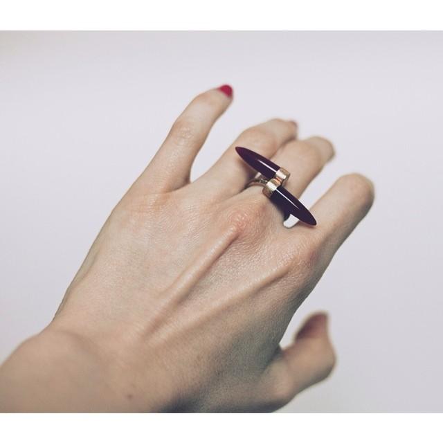 Bullet Ring. Comin' soon…#oliviaterrelljewelry