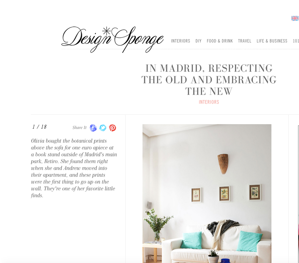 Design Sponge//Sneak Peek