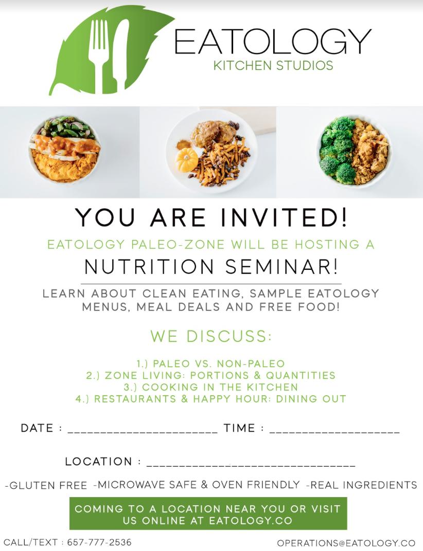 Seminar Flyer (editable)