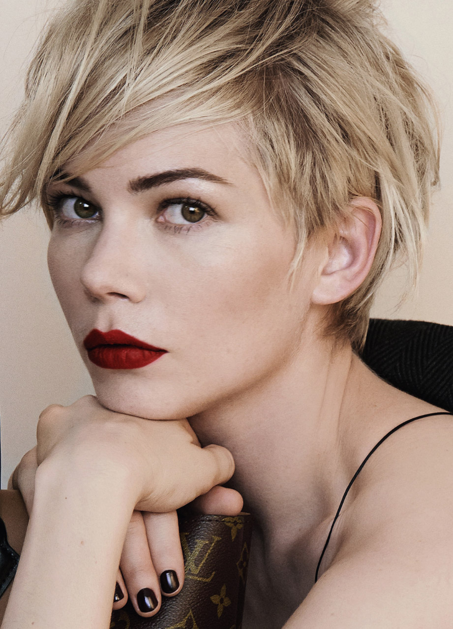 2014 Michelle Williams Short Hair Styles: Pixie Haircut photo