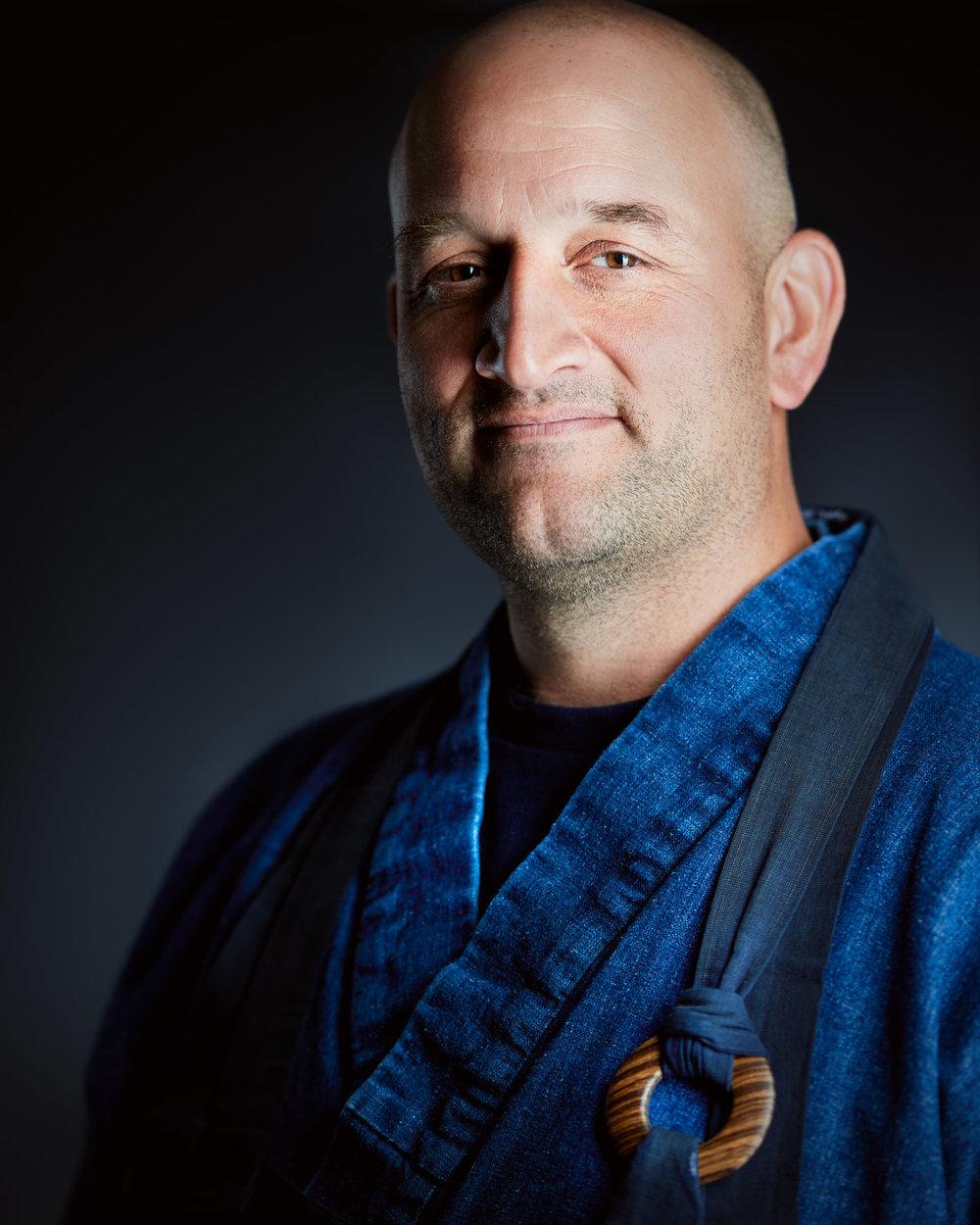 Ejo McMullen, Soto Zen Buddhist Priest,  © 2017  Evan Kaufman