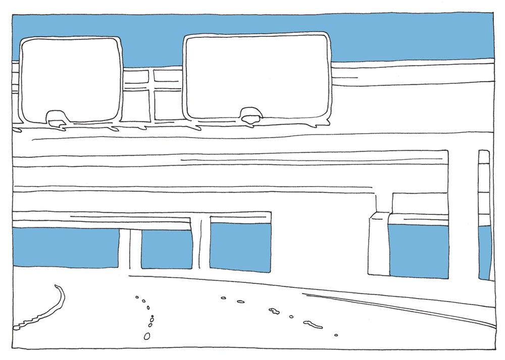 untitled. (epiphany : freeway / crash)
