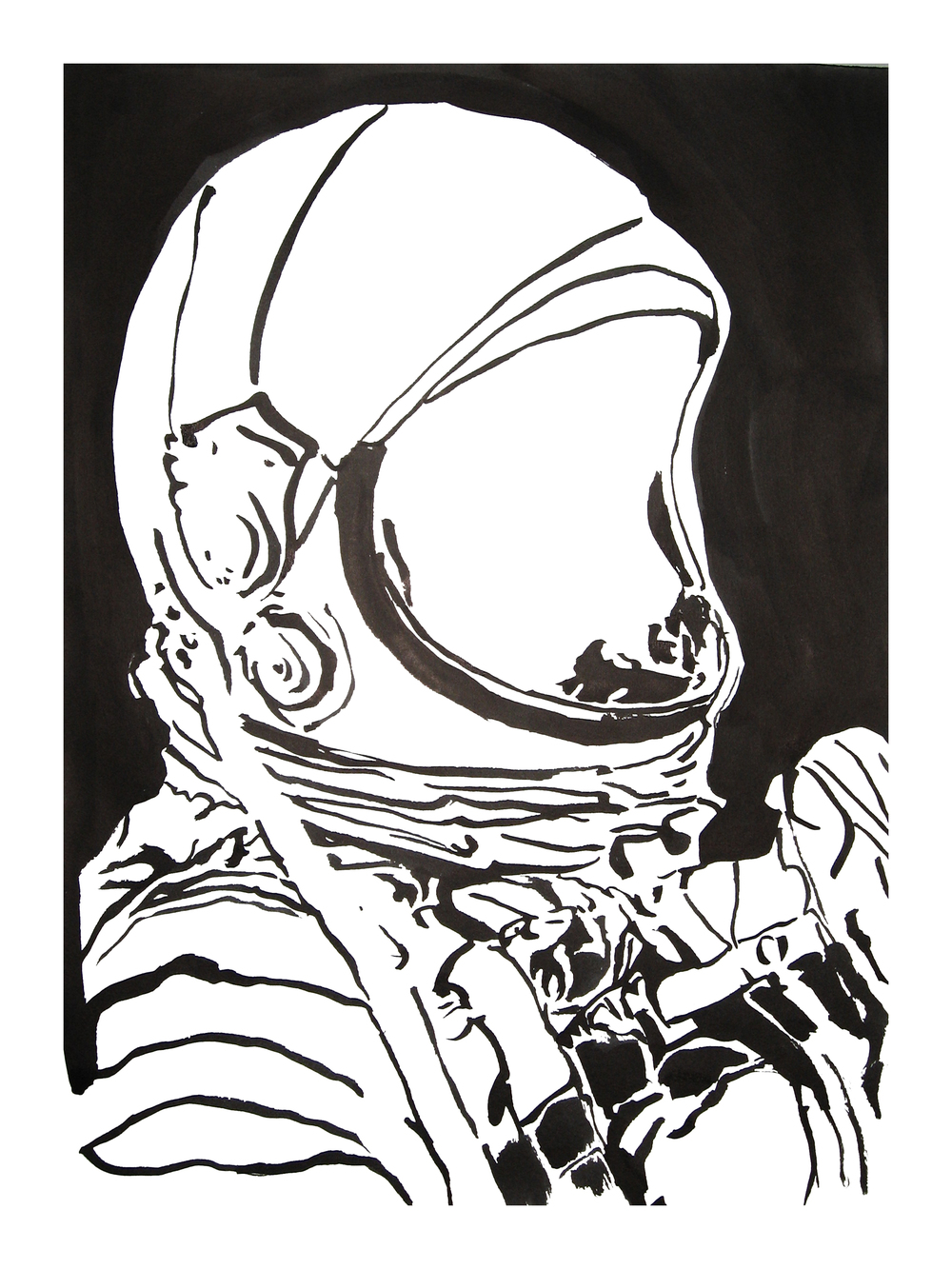 untitled. (spaceman blot 01)